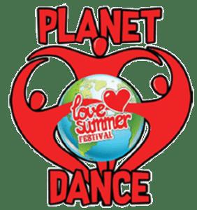 Planet Dance   Logo   Festival Devon   Love Summer