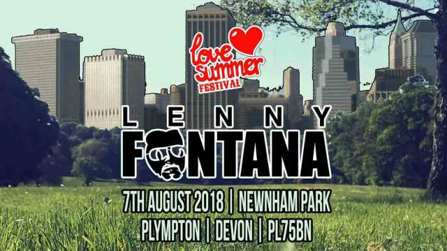 Lenny Fontana Festival appearance at Love Summer Festival 2020