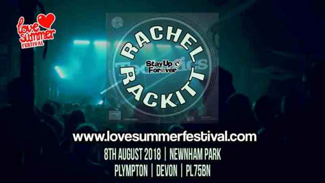 Rachel Rackitt Festival appearance at Love Summer Festival 2020