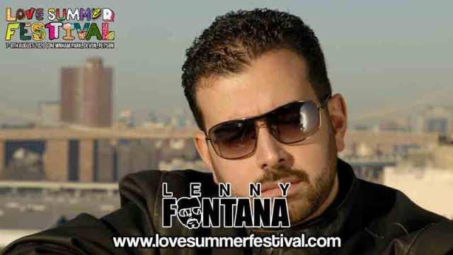 Lenny Fontana | Festival | Live | Devon | August | 2020 | Plymouth