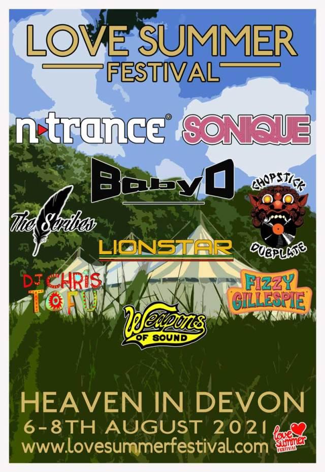 Love summer Festival 2021 | Headline Line Up