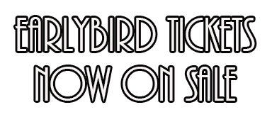 Earlybird Tickets now on Sale