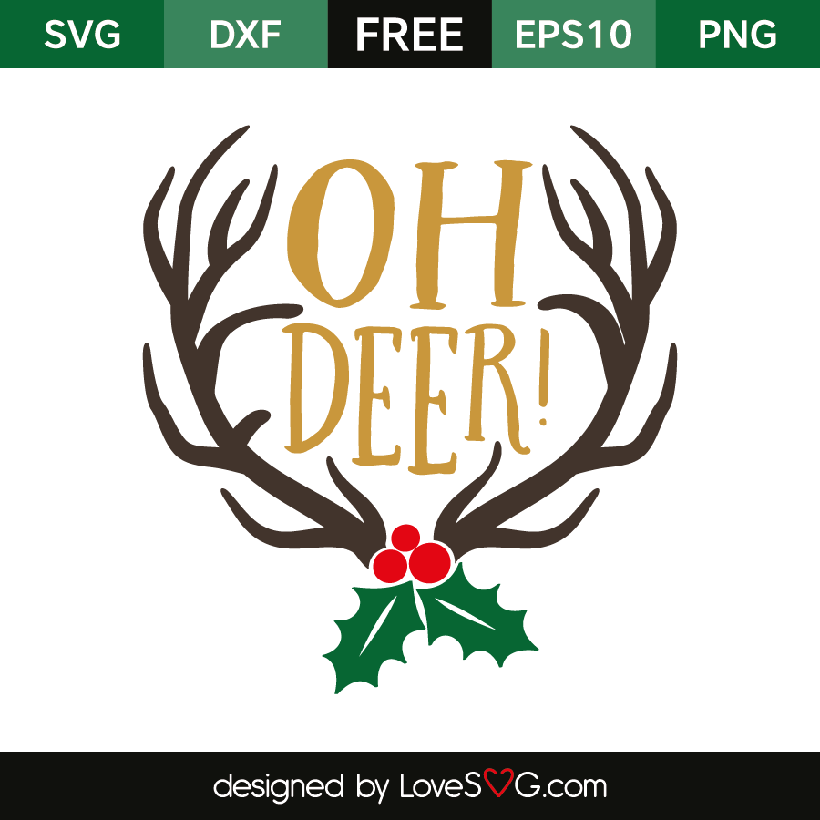 Download Oh deer | Lovesvg.com