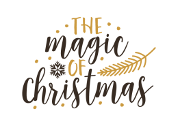 free svg cut file the magic of christmas