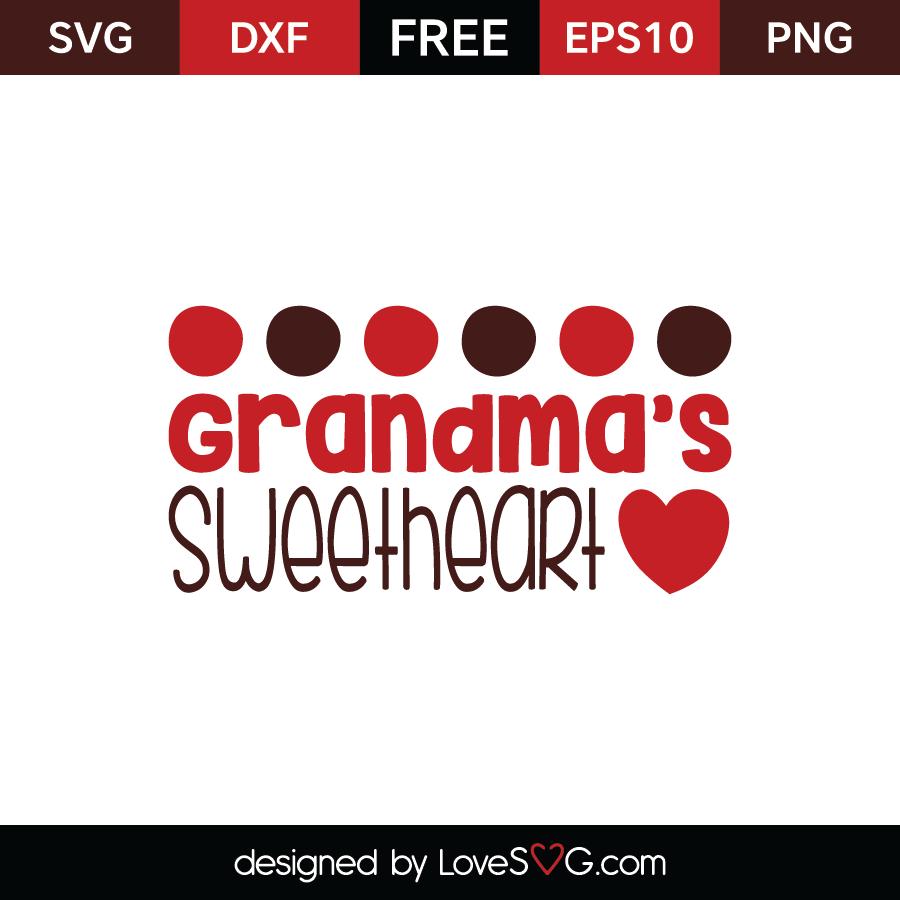 Download Grandma's sweetheart | Lovesvg.com
