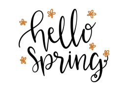 Free SVG cut file - Hello Spring