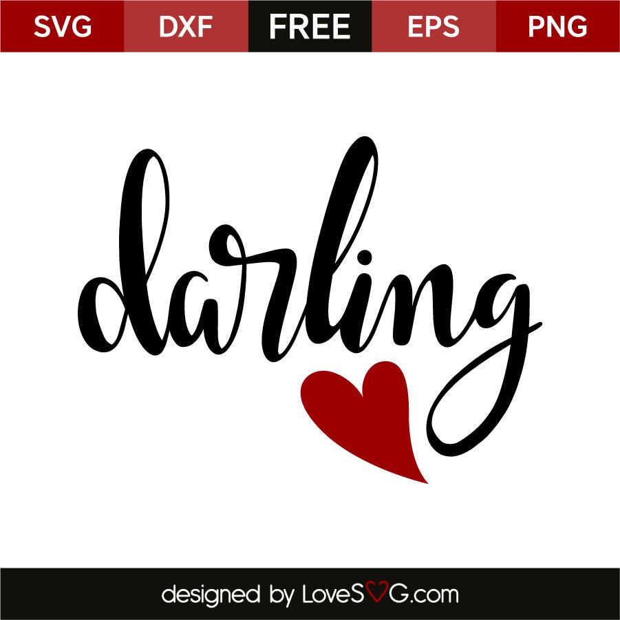 Download Darling | Lovesvg.com