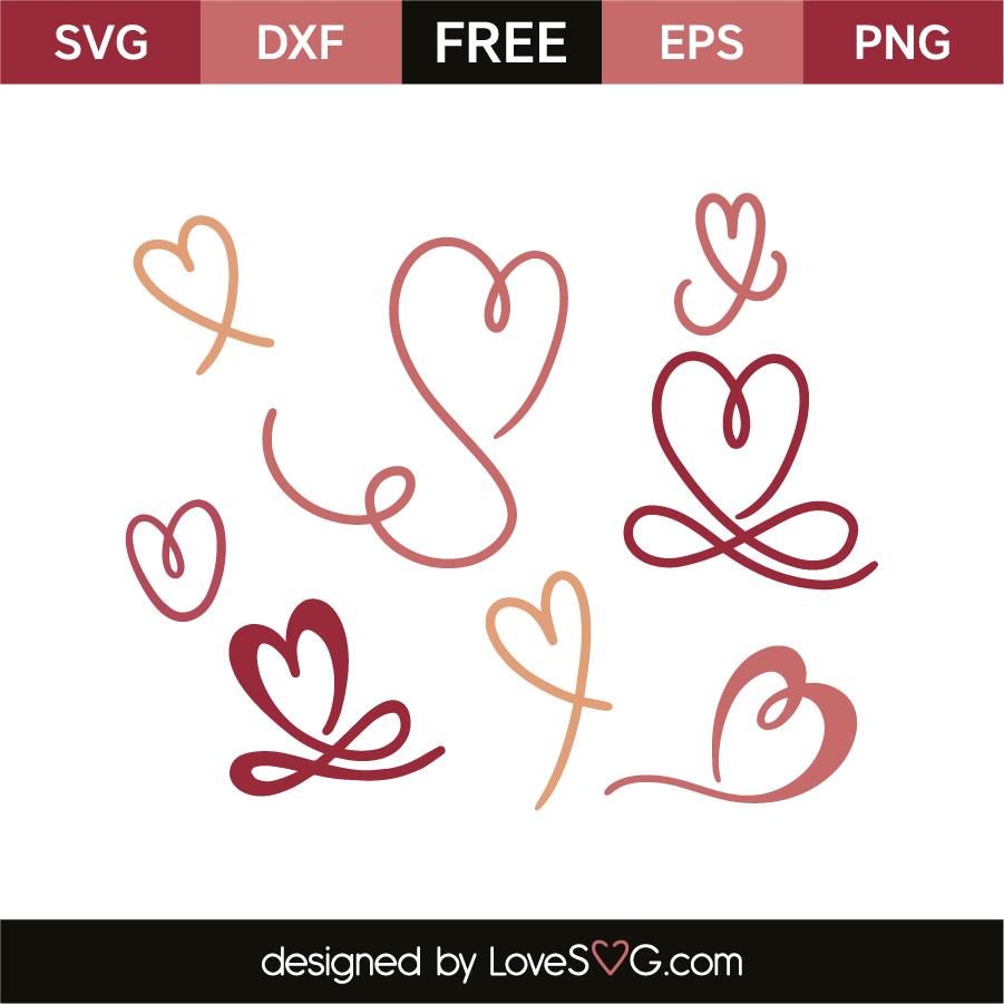 hearts lovesvg com