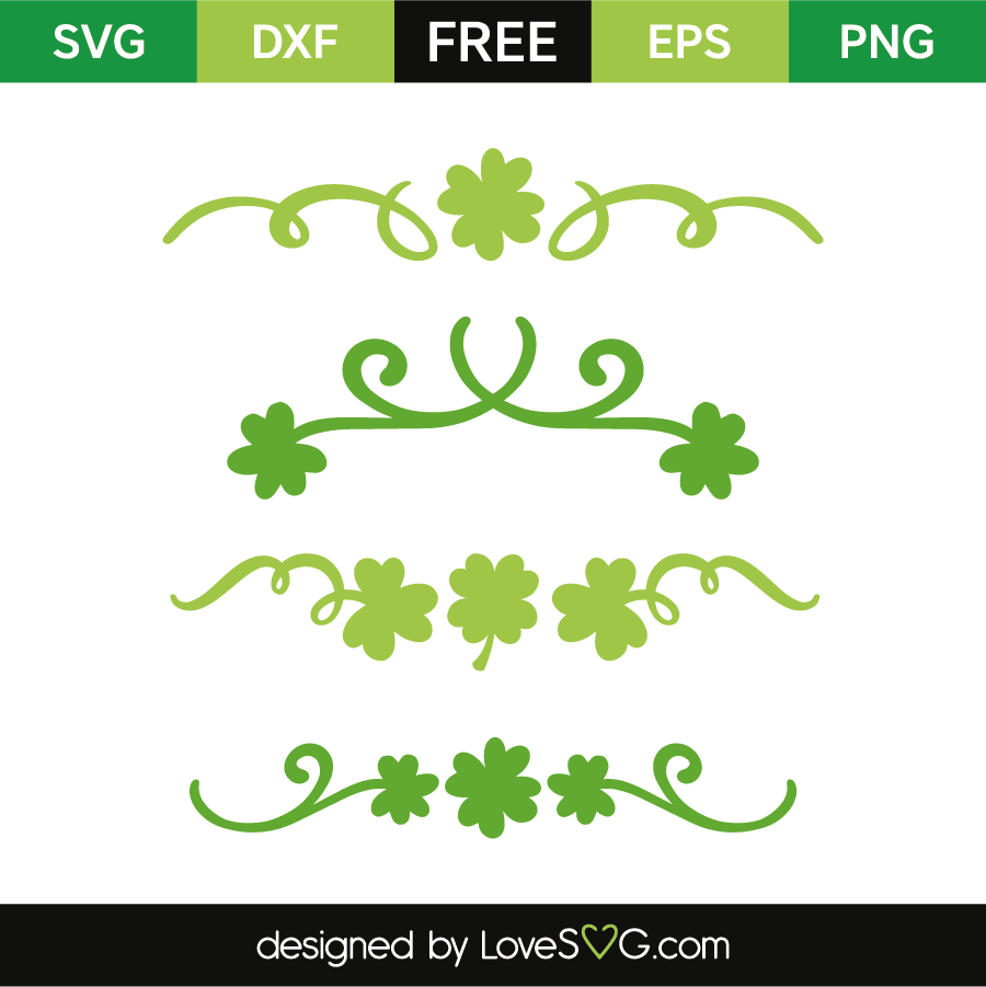 Download Saint-Patrick's decorative elements | Lovesvg.com