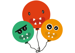 Hungry balloons