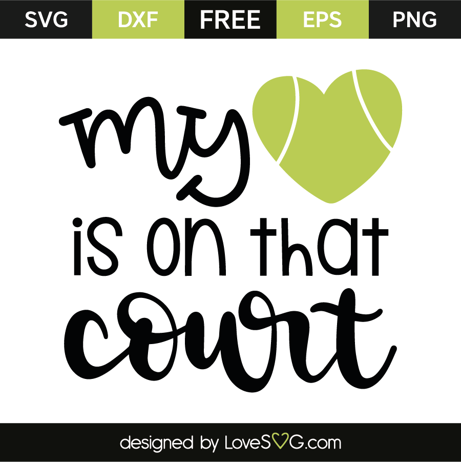 My heart is on that court