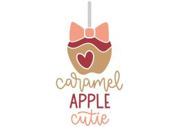 Caramel apple cutie