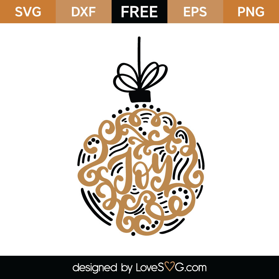 Download Joy SVG Cut File | Lovesvg.com