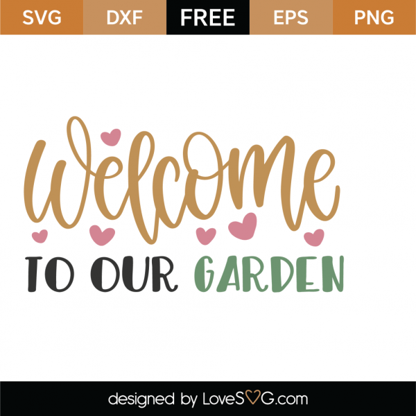 Free Garden Svg Cut File
