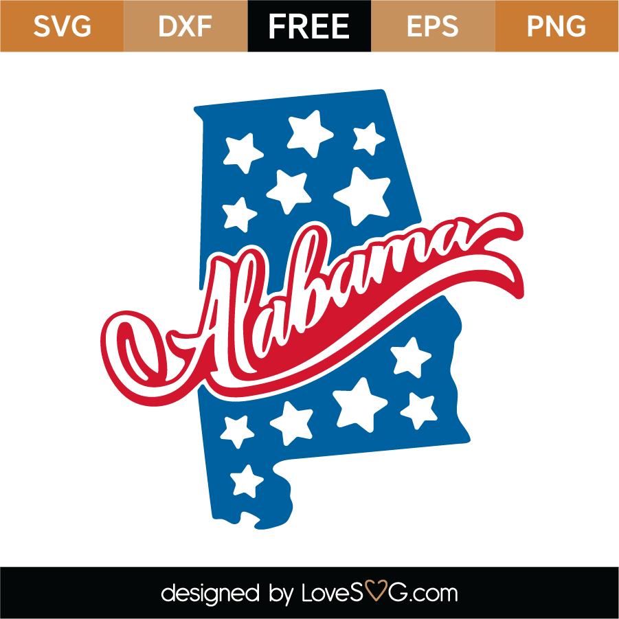Download Free Alabama SVG Cut File - Lovesvg.com