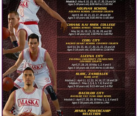 "Teacher's Sports Fest: ALASKA Basketball Power Camp 2015 ""Train to be a champion!"""