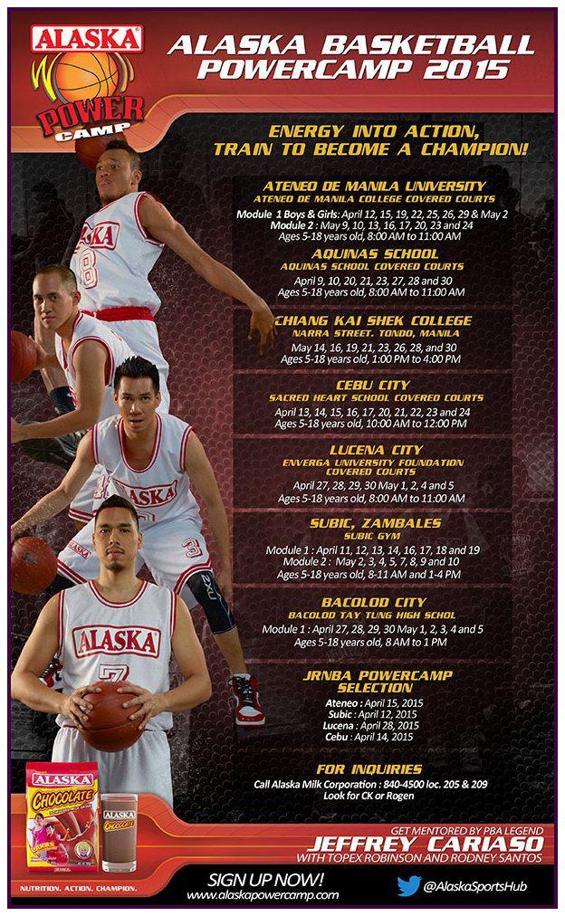 "Teacher's Sports Fest: ALASKA Basketball Power Camp 2015 ""Train to be a champion!"""