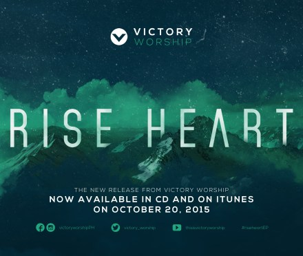 """Angel's Sounds and Rhythms: Victory Worship To Release """"Rise Heart"""" October 20"""