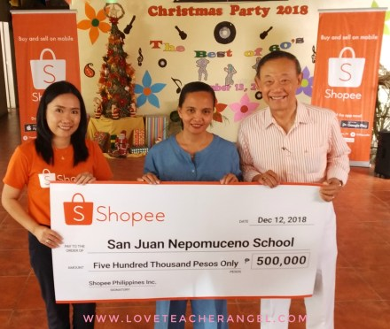 Teacher Insights: Shopee and Jose Mari Chan Gives back during Shopee 12.12 Big Christmas Sale
