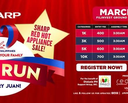 Teacher Sports Fest: Let's Run the First Ever Sharp #Run4EveryJUAN