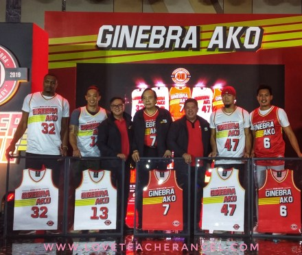 "Teacher's Sports Fest: Ginebra San Miguel ""NEVER SAY DIE"" Jersey Collection is NOW OUT!"