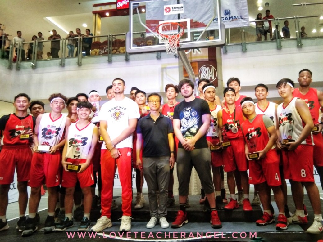 Filipino Excellence in Basketball was demonstrated at the Taiwan Excellence 3x3 Hoop Challenge 2019