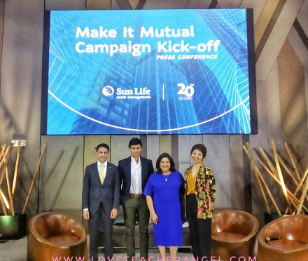 "Investment Made less Complicated with the return of Sun Life's Asset Management ""Make it Mutual"" Campaign"