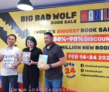 "Teacher Reads: Make Books as Valentine Date at 24/7 ""Big Bad Wolf"" Book Sale"