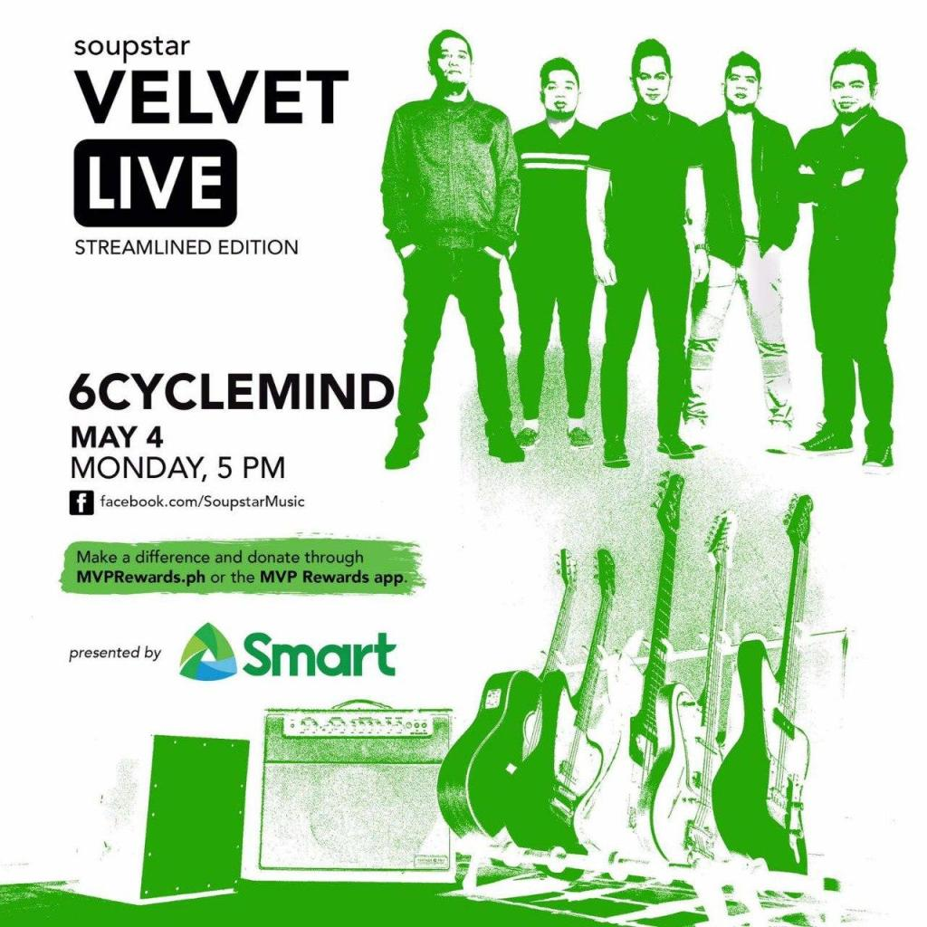 Eraserheads mini-reunion, 6Cyclemind & other OPM bands come together for Smart Music Live Online Sessions