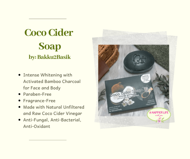 Awesome Benefits of Coco Cider Soap from  Bakku2Basik's