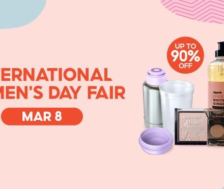 Shopee International Women's Day Fair
