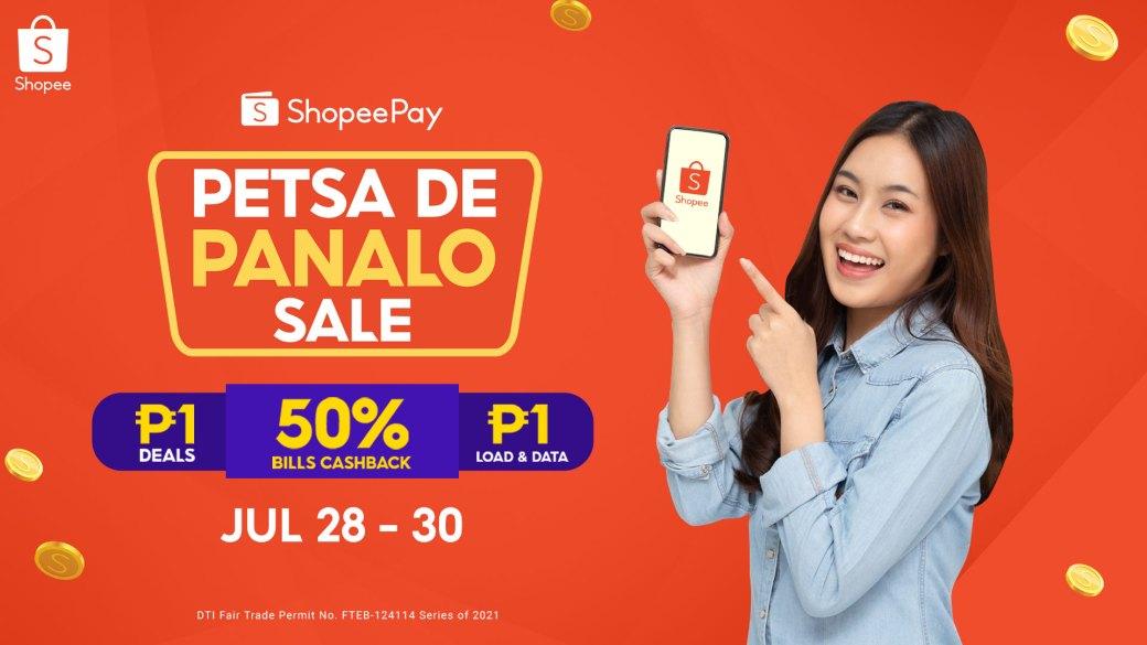 ShopeePay Petsa de Panalo Sale