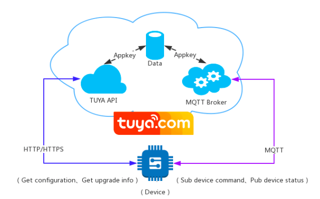Original tuya cloud