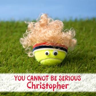 Ace birthday cards love tennis blog for those who prefer to send funny cards m4hsunfo
