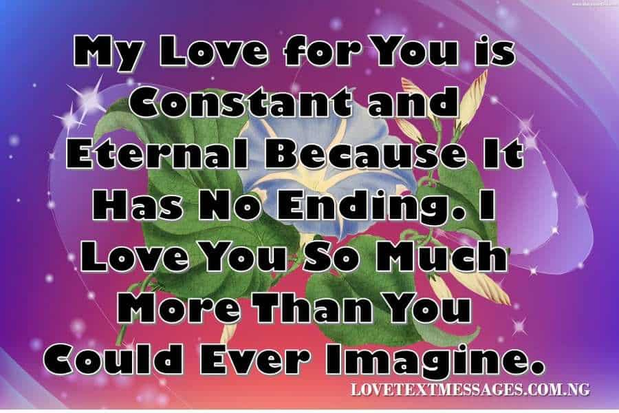 Romantic love sms for her