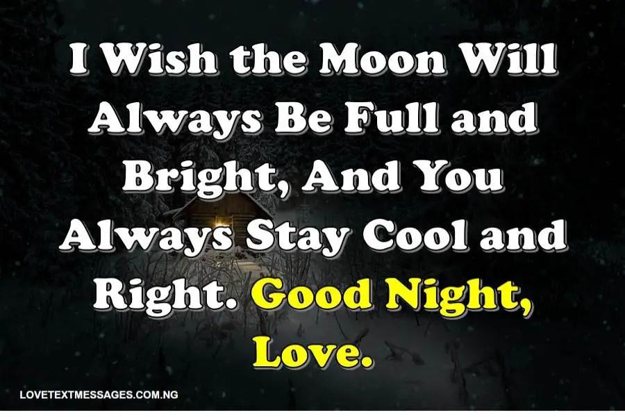 Good night letter for her