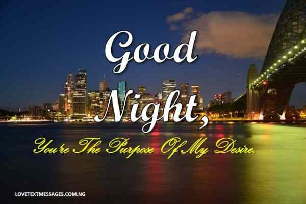 Romantic Good Night Sms