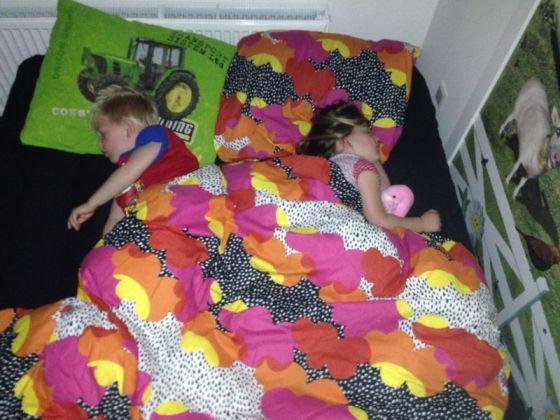 Zullen ze over dertig jaar ook zo slapen?