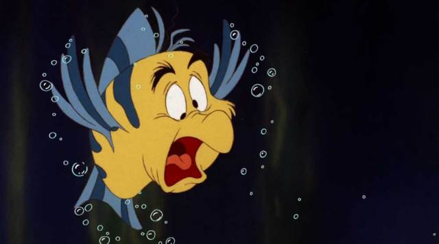 5. Dit heb je vast ook nog niet gezien: Botje die verandert in een zeemeeuw, wanneer hij Jutter nadoet.