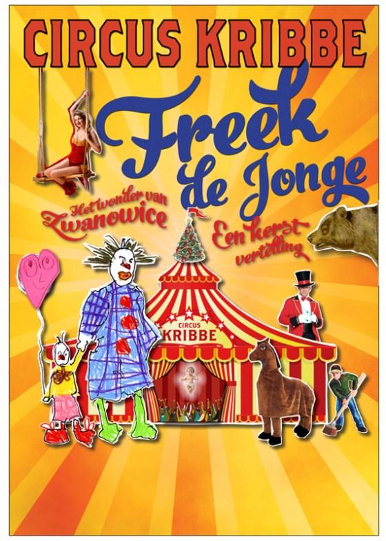 Freek de Jonge - Circus Kribbe_NL_571x800