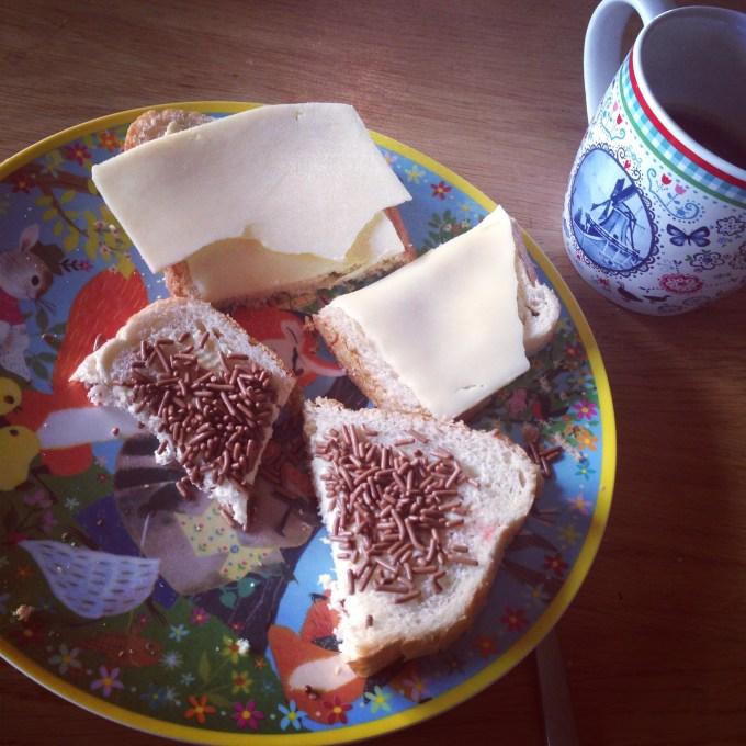 Een Nederlands ontbijt doet ook wonderen trouwens