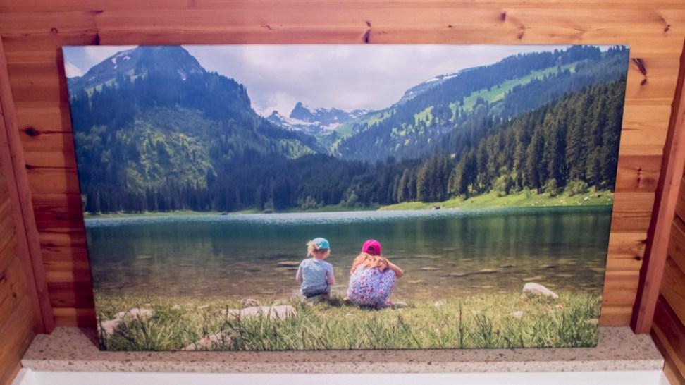 groot formaat foto op canvas