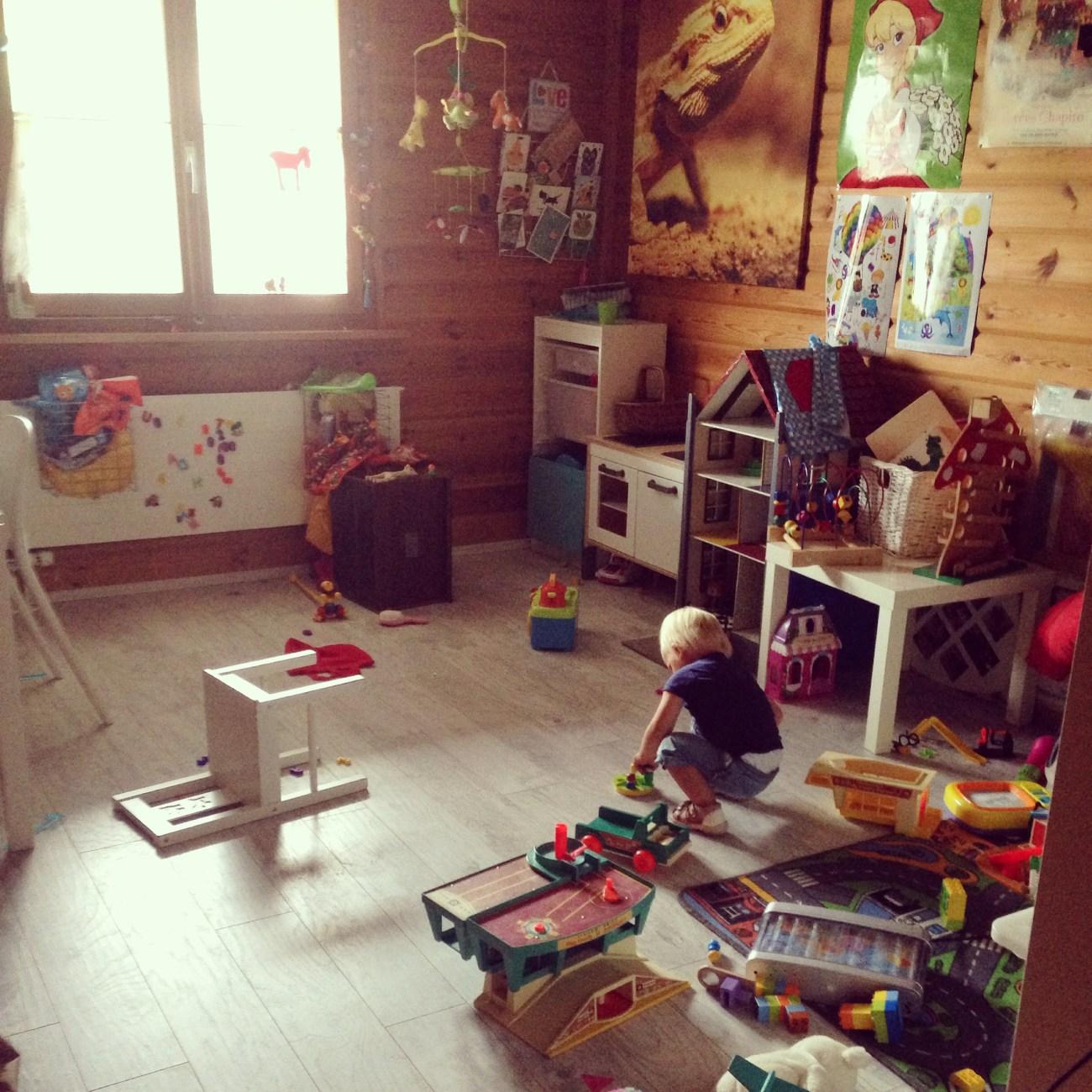 Heerlijk zo'n speelkamer