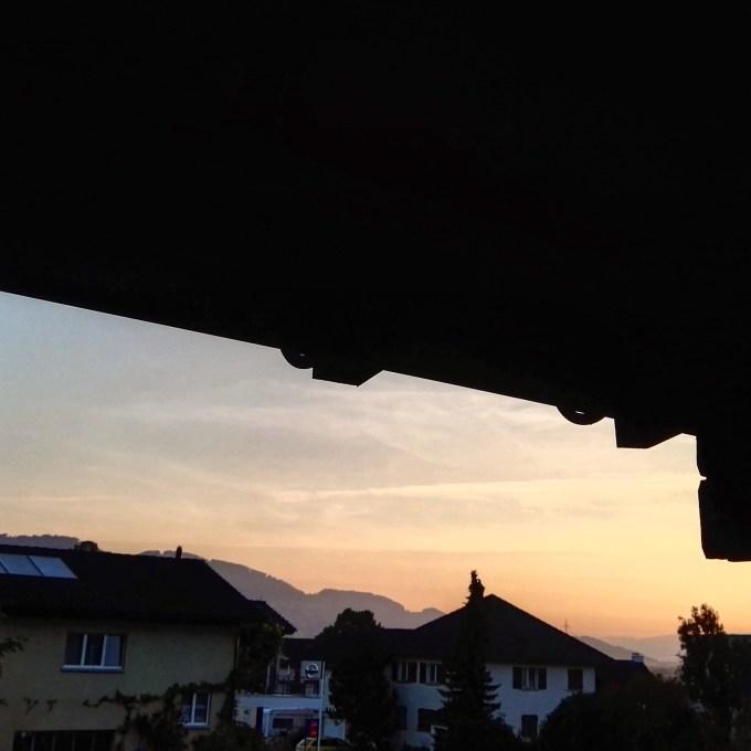 De morgenstond heeft donderdag goud in de mond. 5:48 werd deze foto genomen