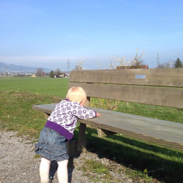 Die middag gingen we nog even naar de speeltuin. Het was echt lekker weer