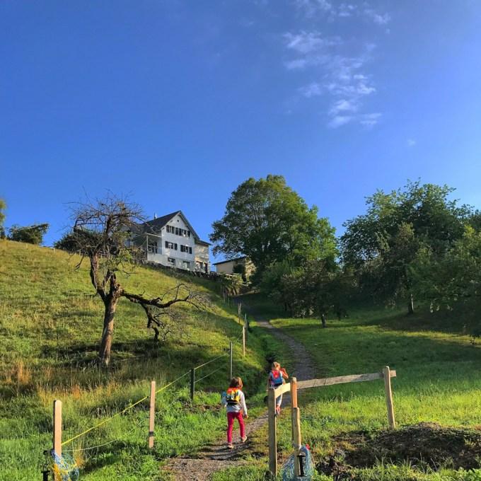 Schoolweg Zwitserland