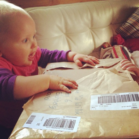 En toen kregen we post!!!!!!!! Post uit NL!