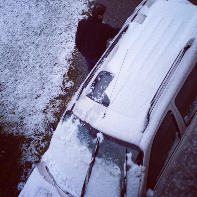 Dit hoort uiteraard ook bij sneeuw...