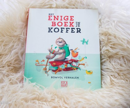 Het enige boek in je koffer'!