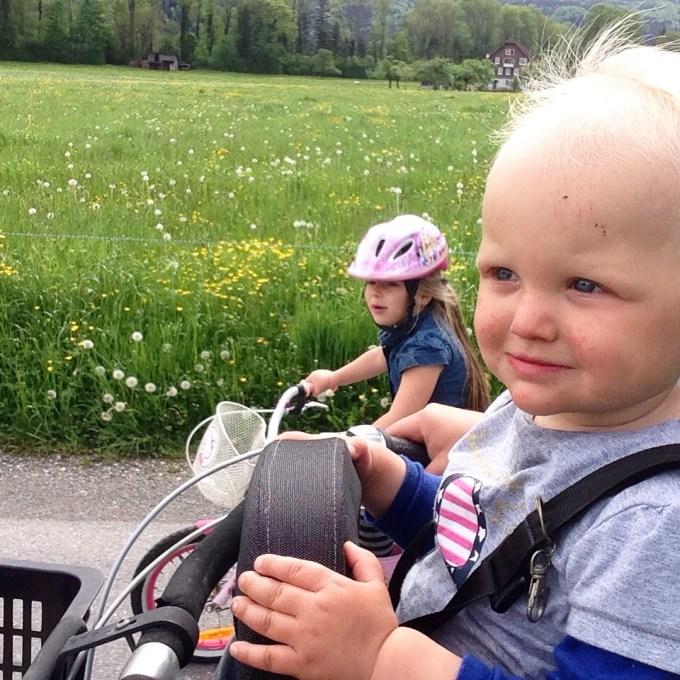 Eva besluit dat ze een stuk wilt fietsen en dat was best een goed idee.